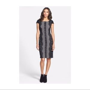 Betsey Johnson Black and Grey Lace Dress 4